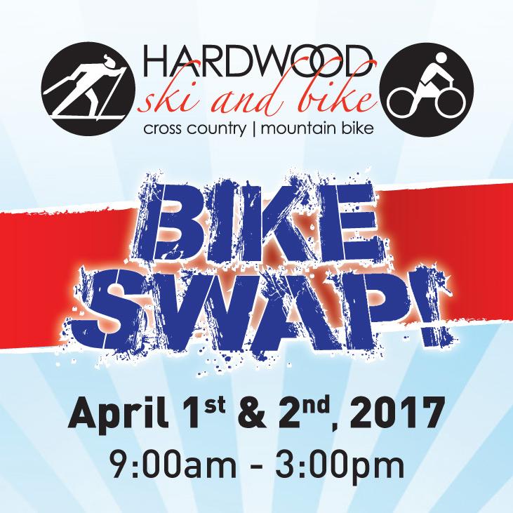 Bike Swap @ Hardwood Ski and Bike | Oro Station | Ontario | Canada