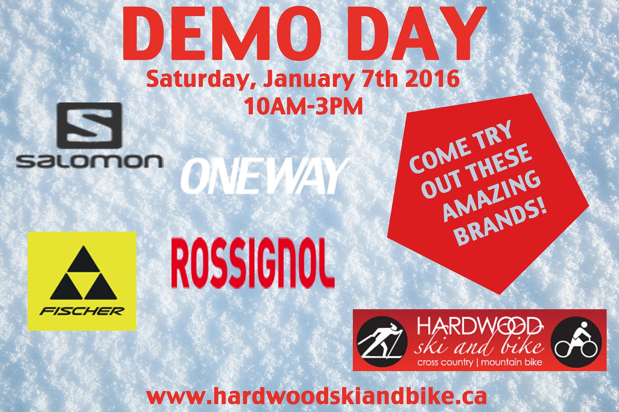 Demo Day @ Hardwood Ski and Bike | Oro Station | Ontario | Canada