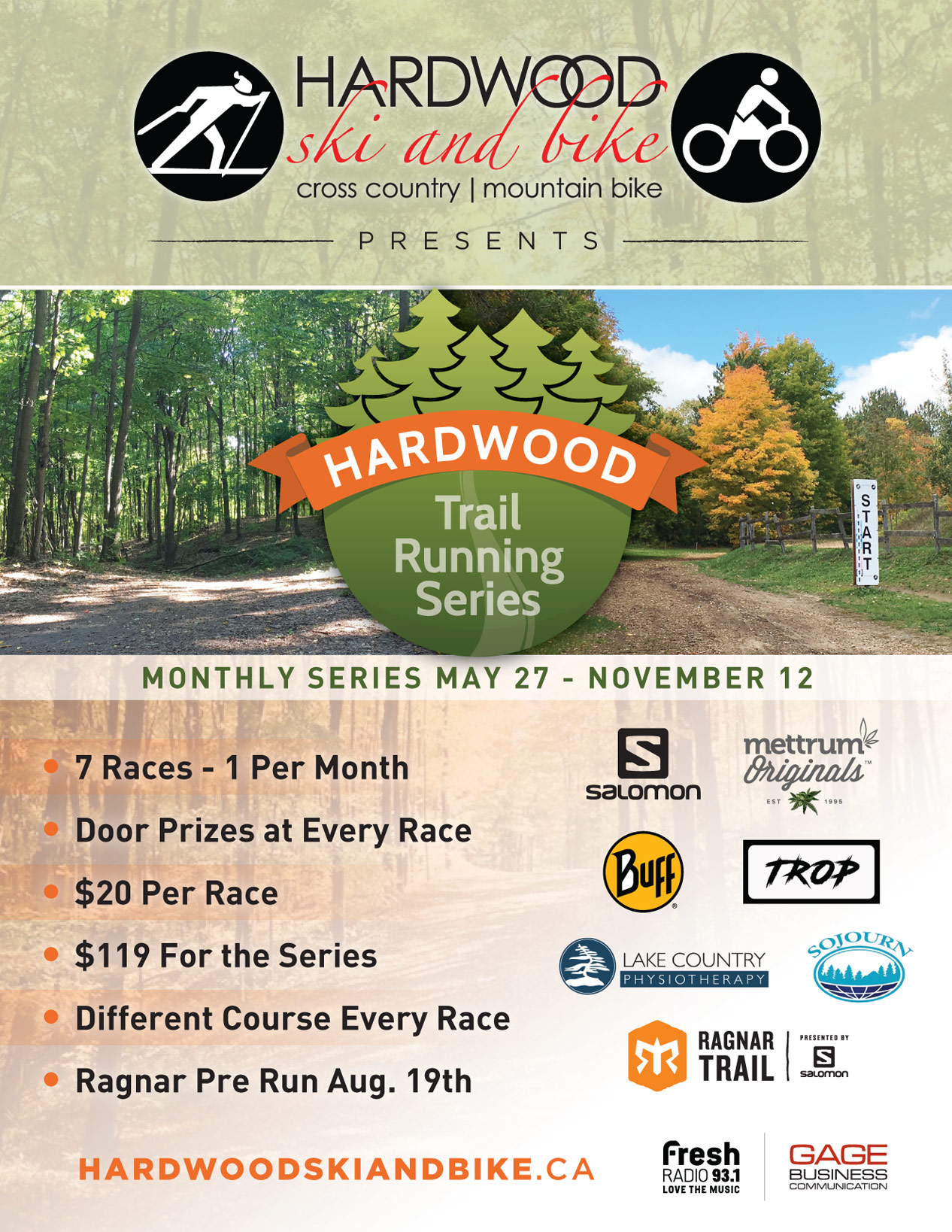 Hardwood Trail Running - Race 7 @ hardwood ski and bike