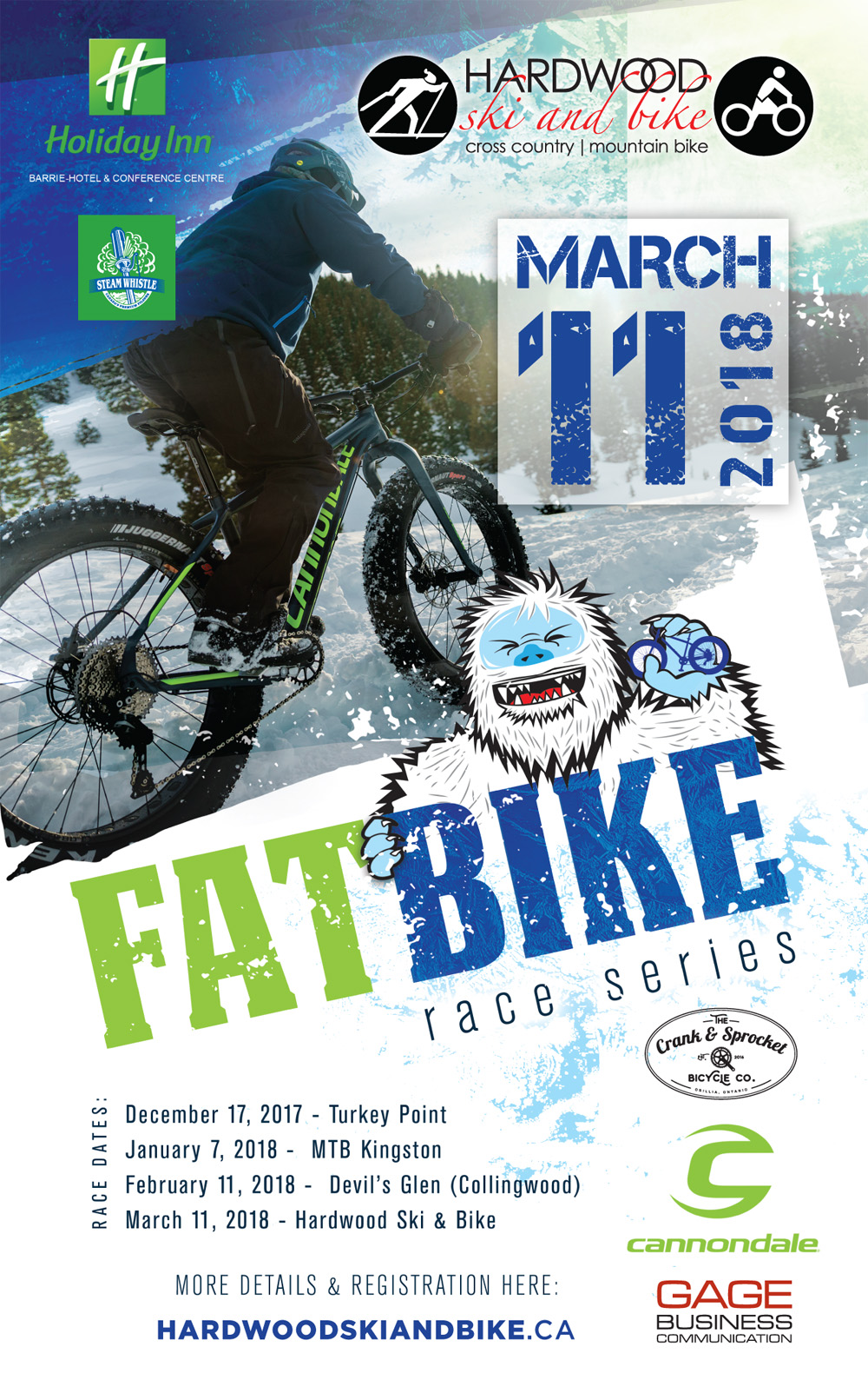 Ontario Fat Bike Series Race #4 @ Oro Station | Ontario | Canada