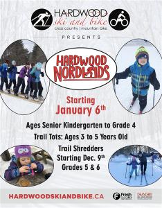 Nordikids Starts @ Hardwood Ski and Bike | Oro Station | Ontario | Canada