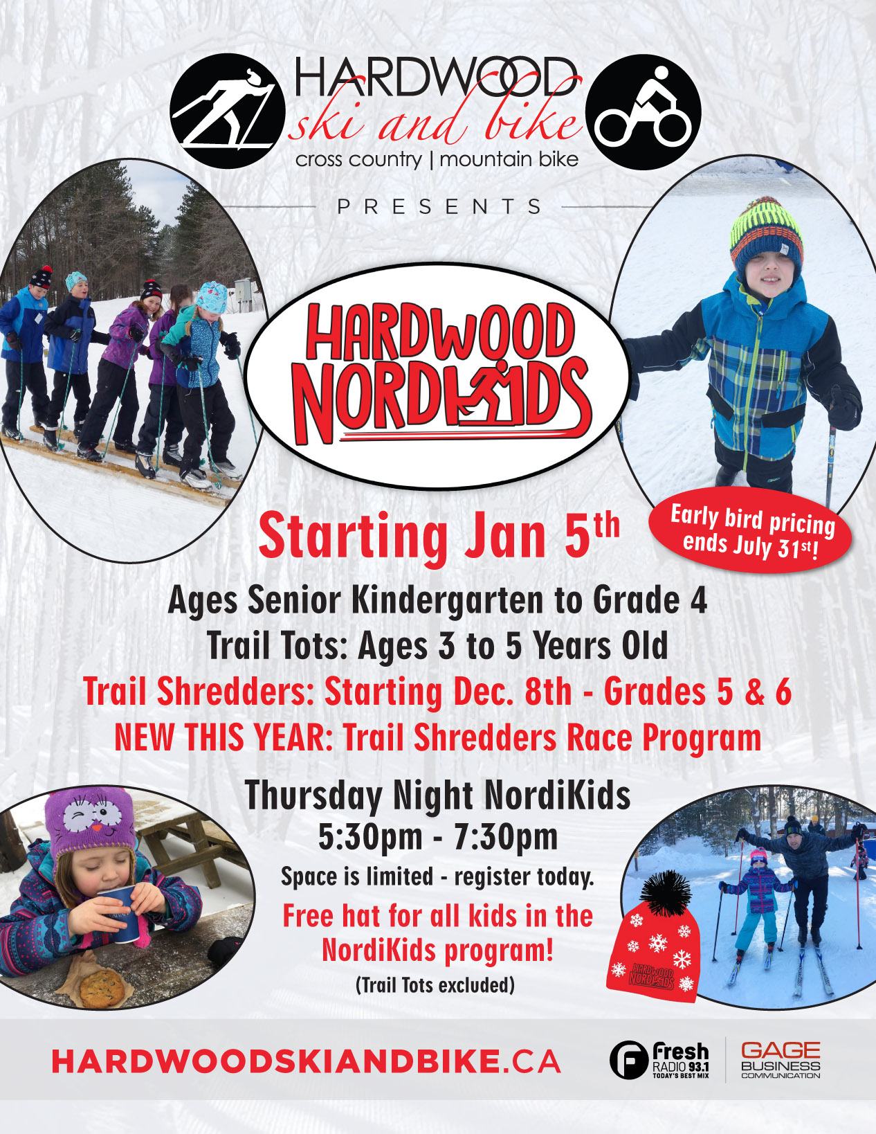Winter Programs Start - Including NordiKids