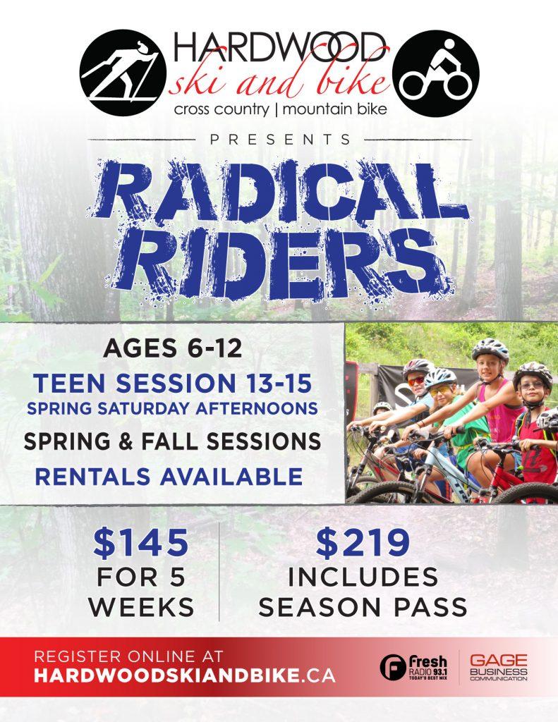 Radical Riders - Spring Session @ hardwood ski and bike