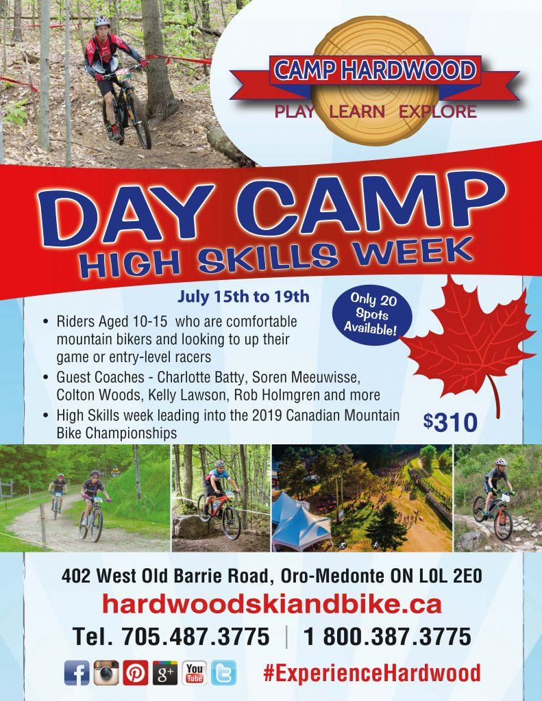 Camp Hardwood - High Skills week